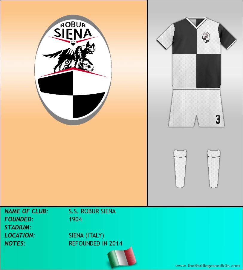 Logo of S.S. ROBUR SIENA