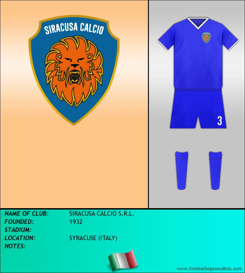 Logo of SIRACUSA CALCIO S.R.L.