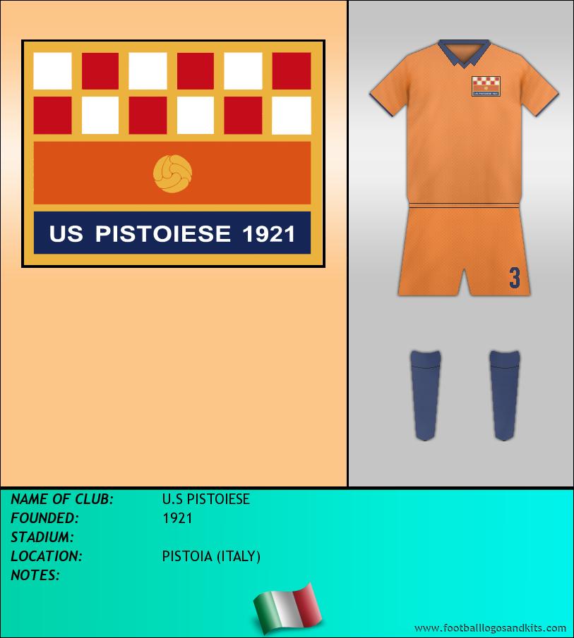 Logo of U.S PISTOIESE