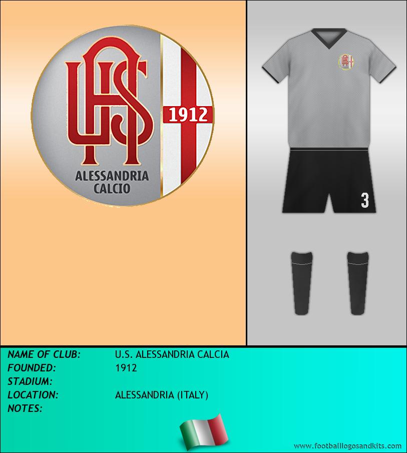 Logo of U.S. ALESSANDRIA CALCIA