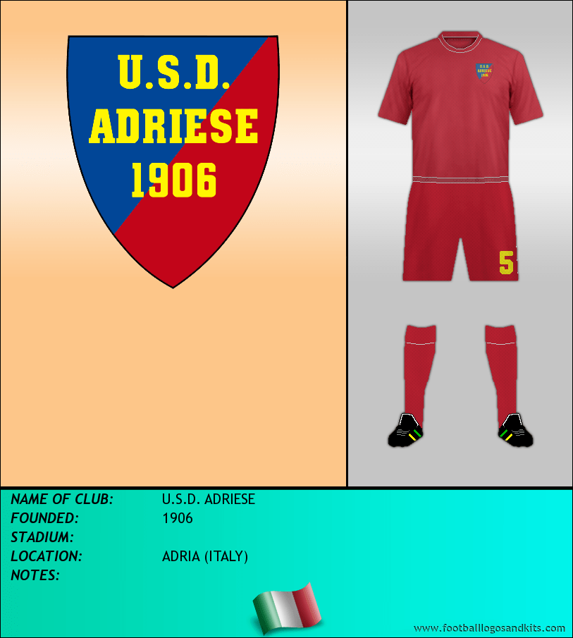 Logo of U.S.D. ADRIESE