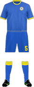 キットカザフスタン サッカー代表