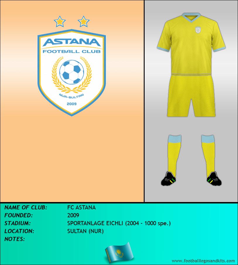 Logo of FC ASTANA