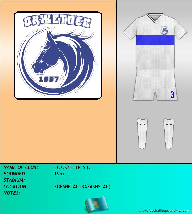 Logo of FC OKZHETPES (2)