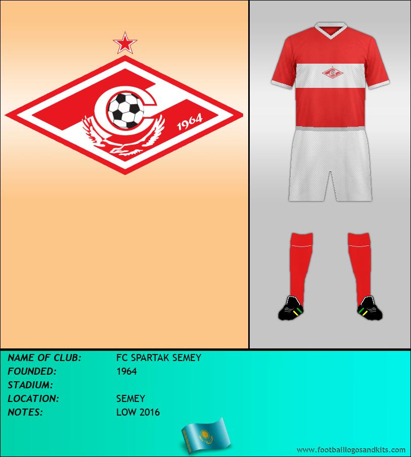 Logo of FC SPARTAK SEMEY
