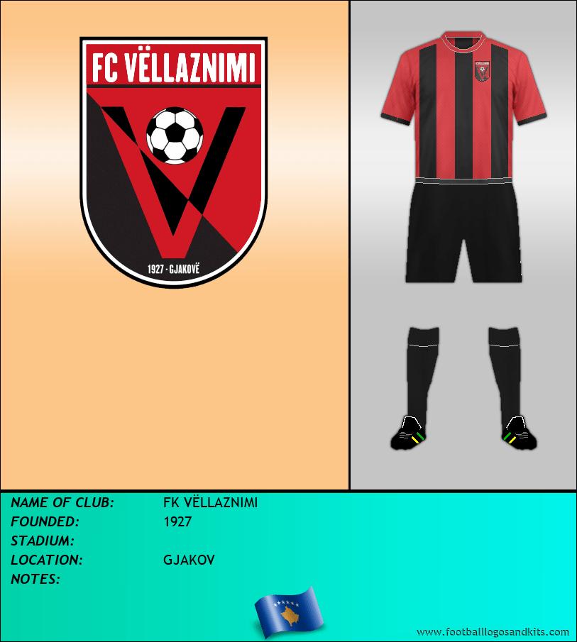 Logo of FK VËLLAZNIMI