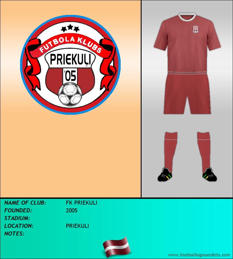 Logo of FK PRIEKULI