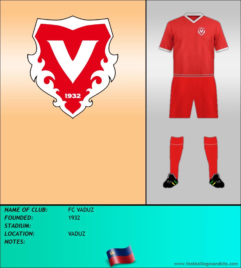 Logo of FC VADUZ