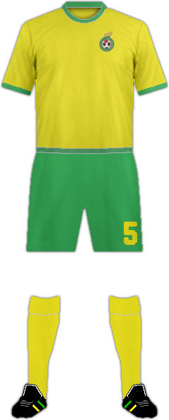 Kit LITHUANIA NATIONAL FOOTBALL TEAM