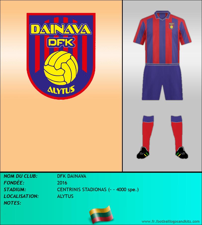 Logo de DFK DAINAVA