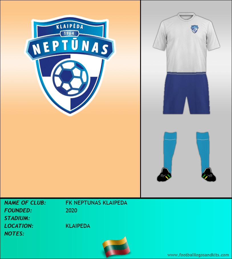 Logo of FK NEPTUNAS KLAIPEDA