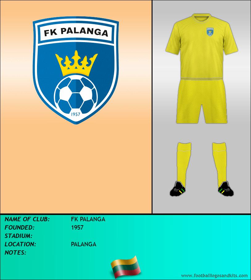 Logo of FK PALANGA