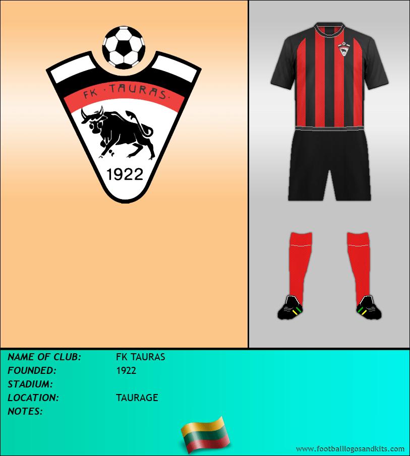 Logo of FK TAURAS