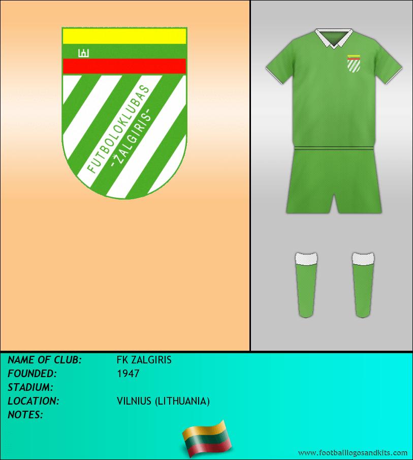 Logo of FK ZALGIRIS