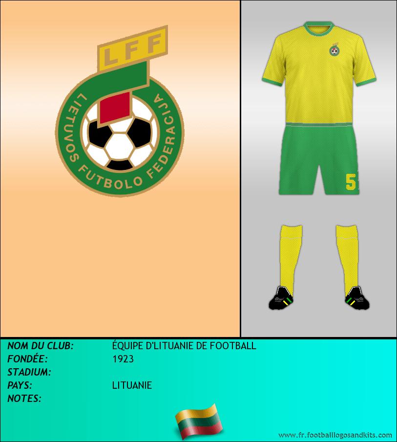 Logo de SELECCIÓN DE LITUANIA