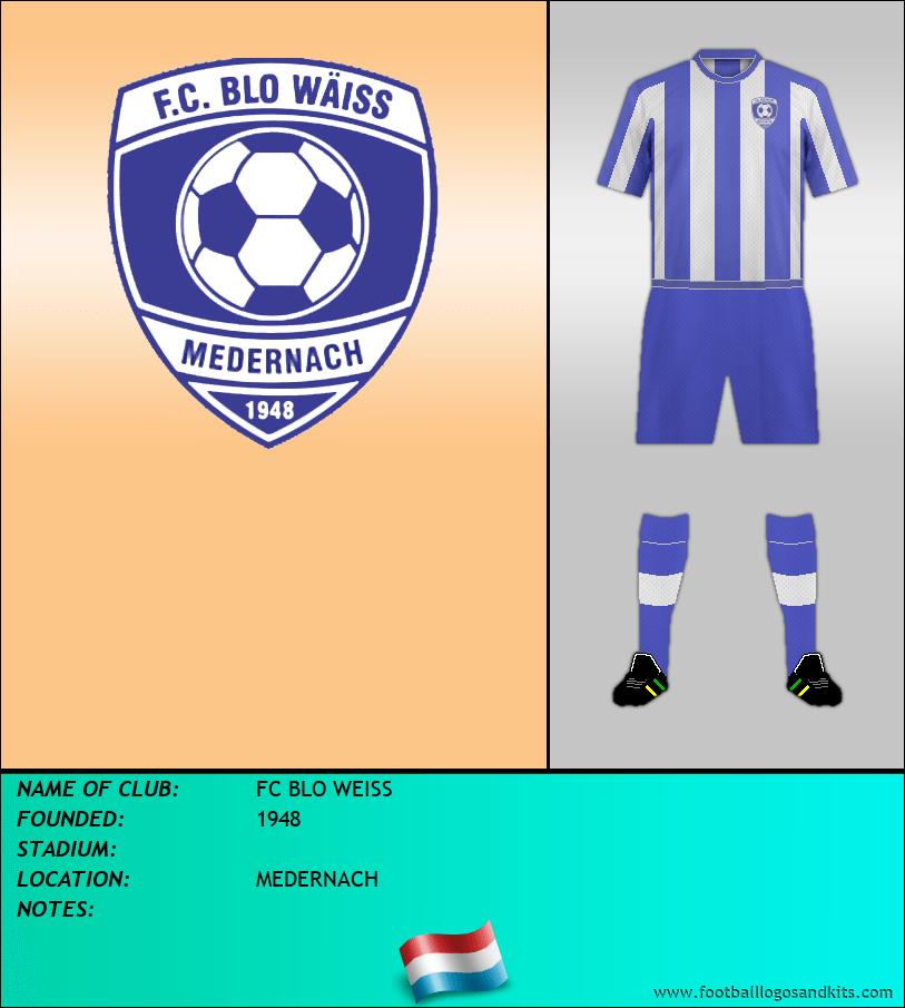 Logo of FC BLO WEISS