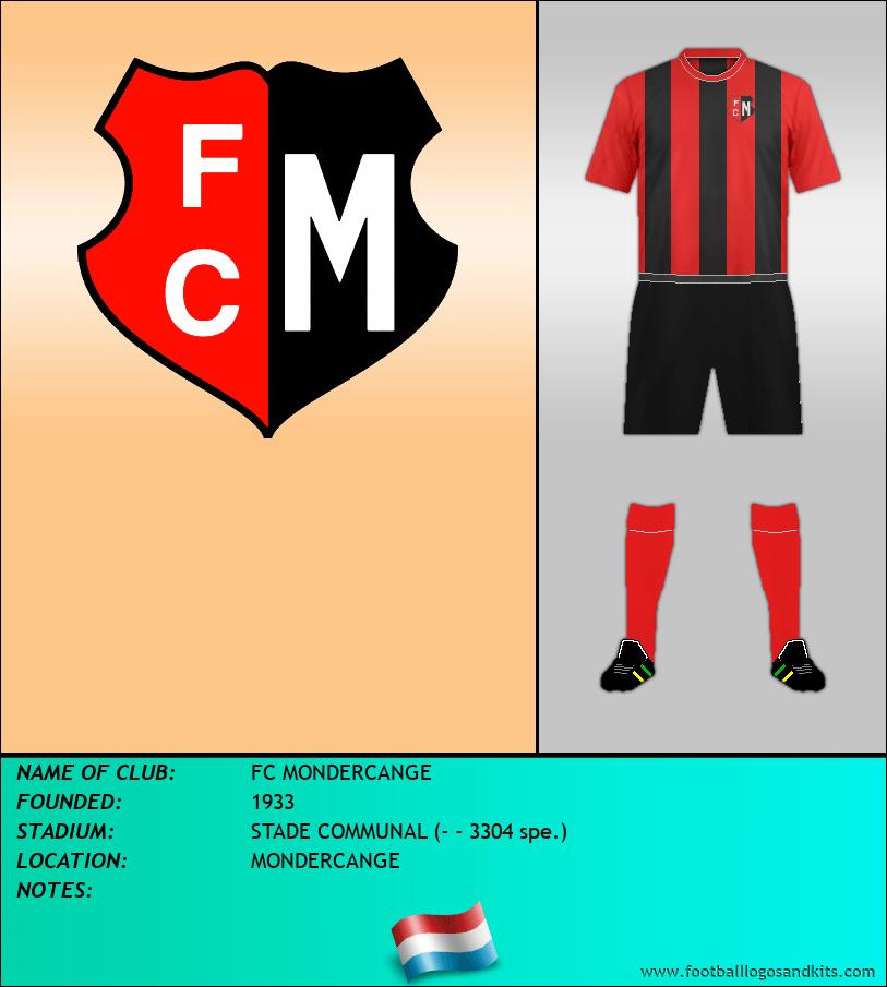 Logo of FC MONDERCANGE