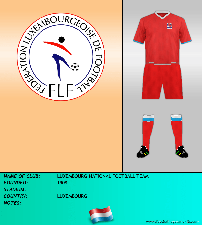 Logo of LUXEMBOURG NATIONAL FOOTBALL TEAM