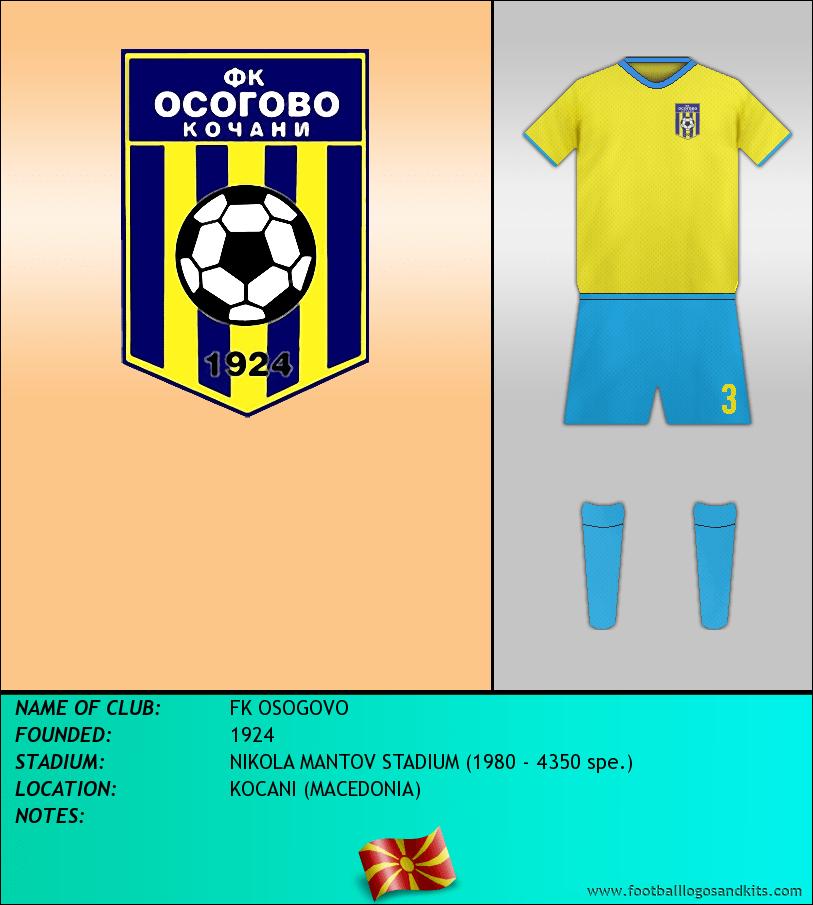 Logo of FK OSOGOVO