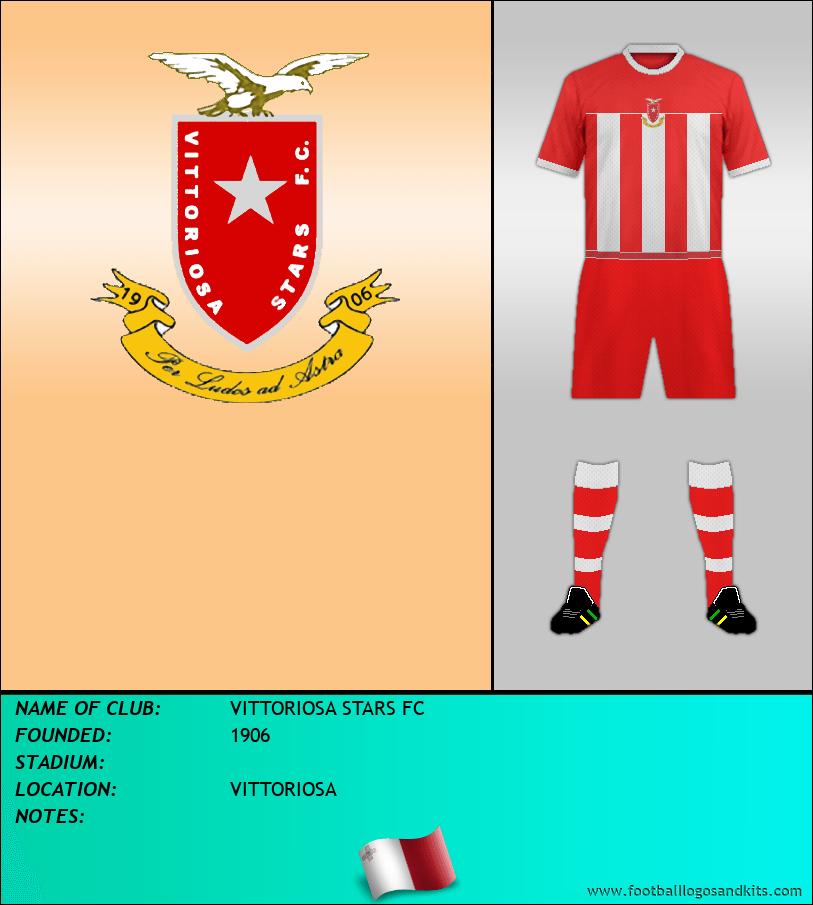 Logo of VITTORIOSA STARS FC