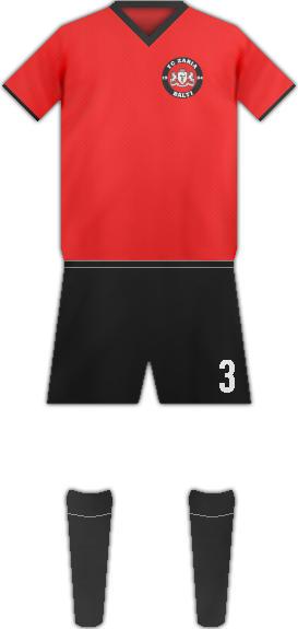 Kit FC ZARIA BALTI