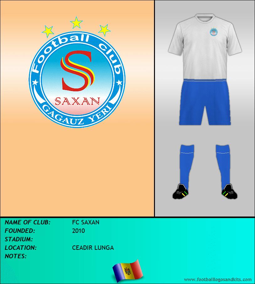 Logo of FC SAXAN