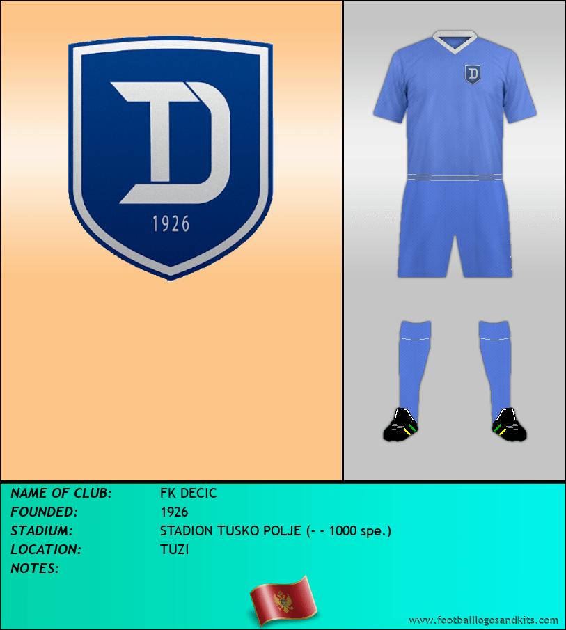 Logo of FK DECIC