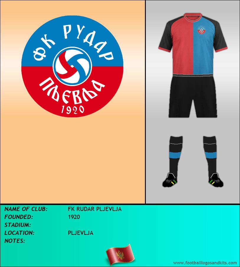 Logo of FK RUDAR PLJEVLJA