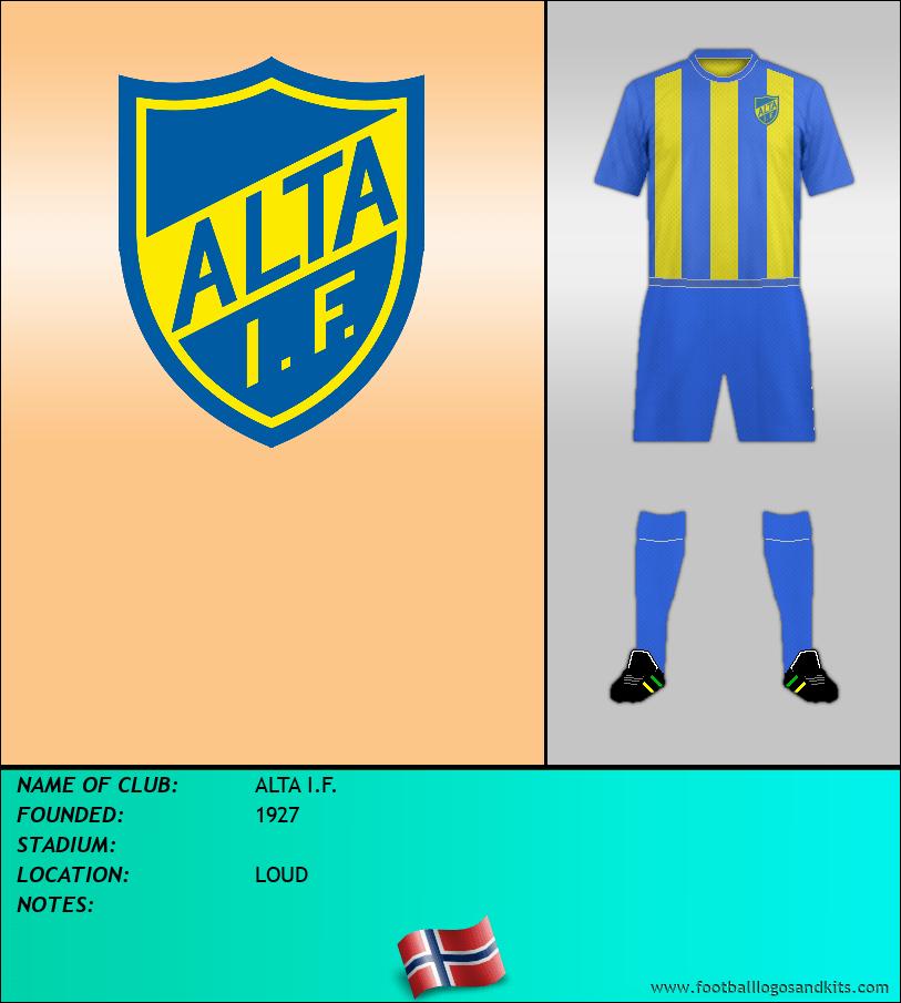 Logo of ALTA I.F.