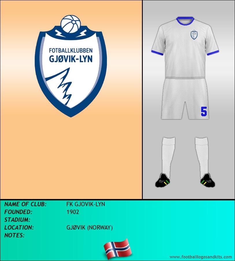 Logo of FK GJOVIK-LYN
