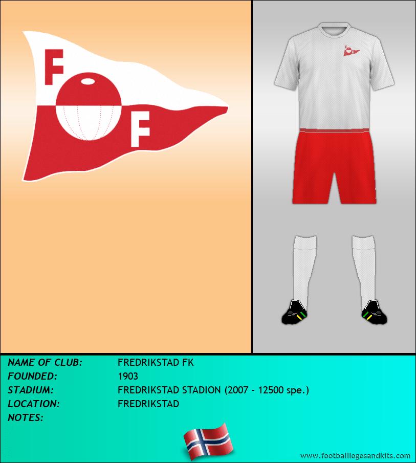 Logo of FREDRIKSTAD FK