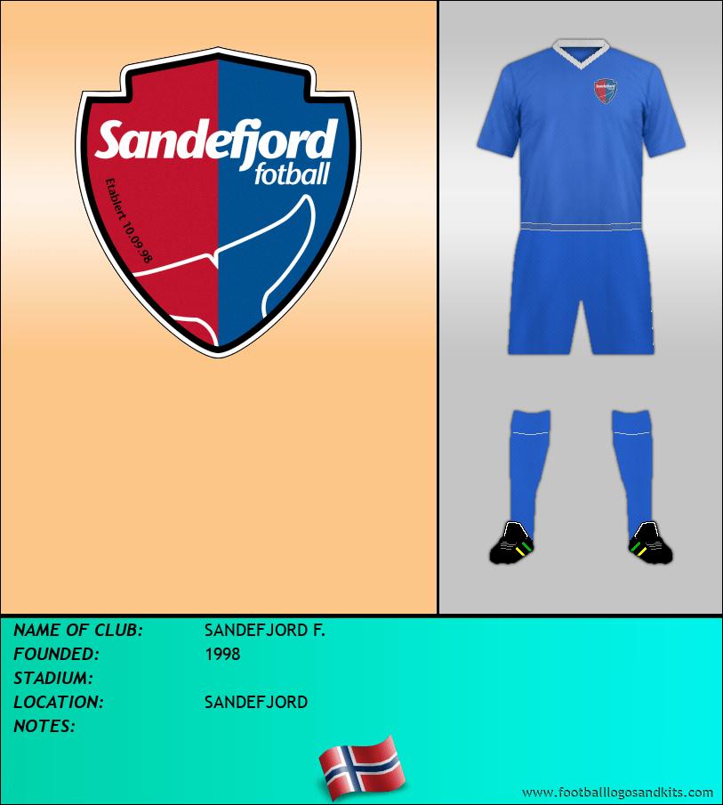 Logo of SANDEFJORD F.