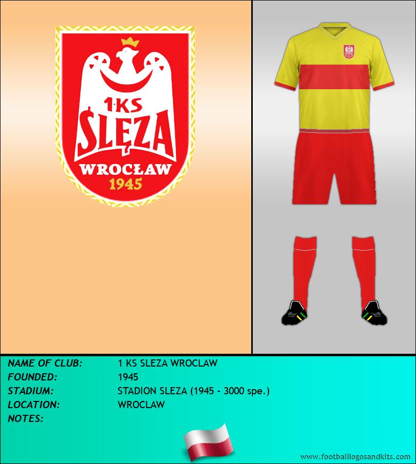 Logo of 1 KS SLEZA WROCLAW