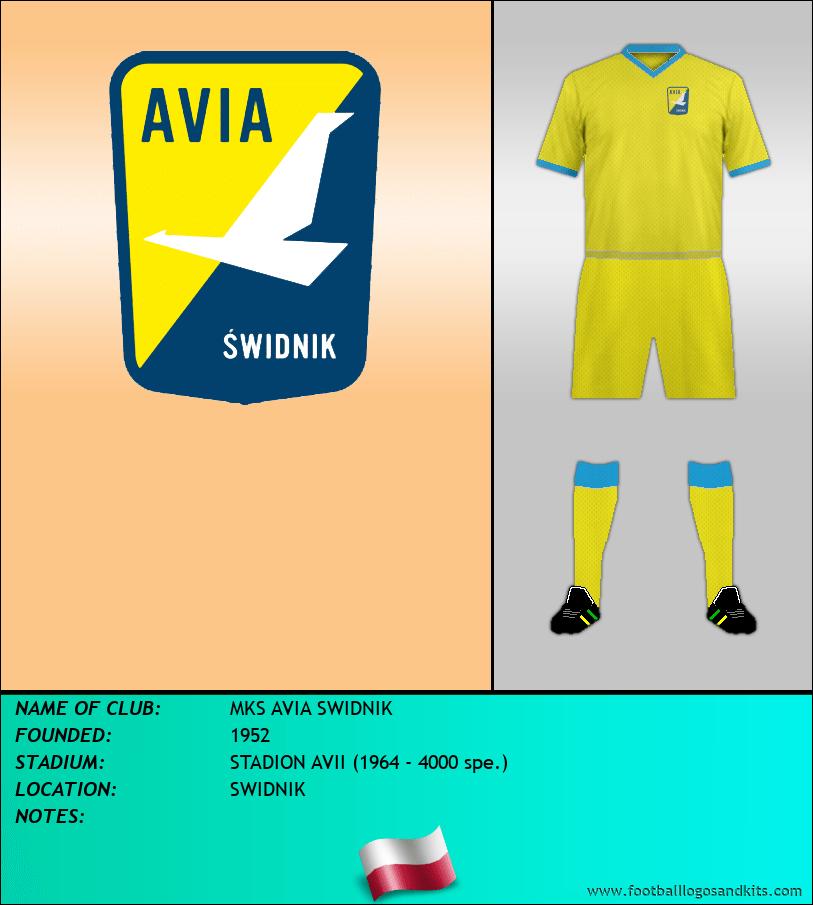 Logo of MKS AVIA SWIDNIK