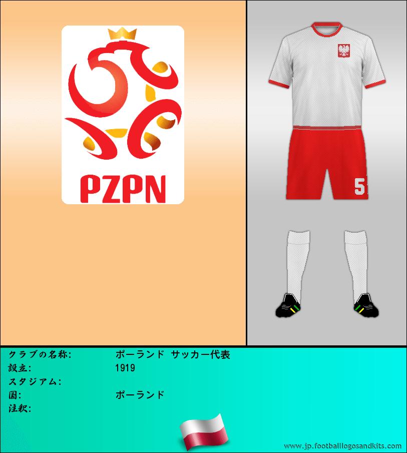 のロゴポーランド サッカー代表