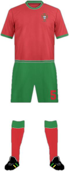 Kit PORTUGAL NATIONAL FOOTBALL TEAM