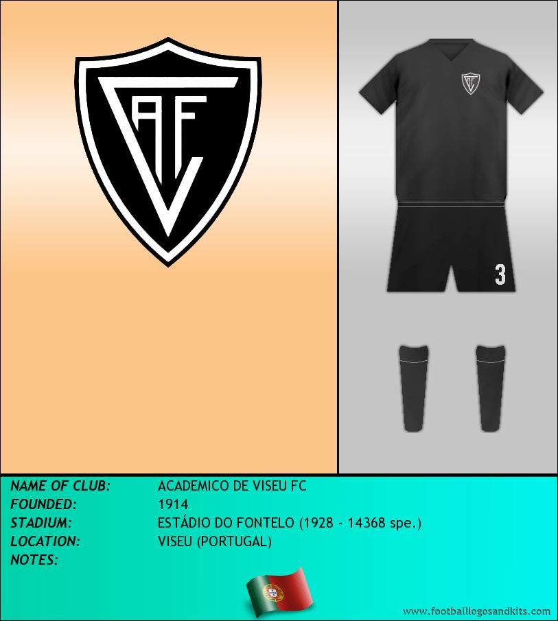 Logo of ACADEMICO DE VISEU FC