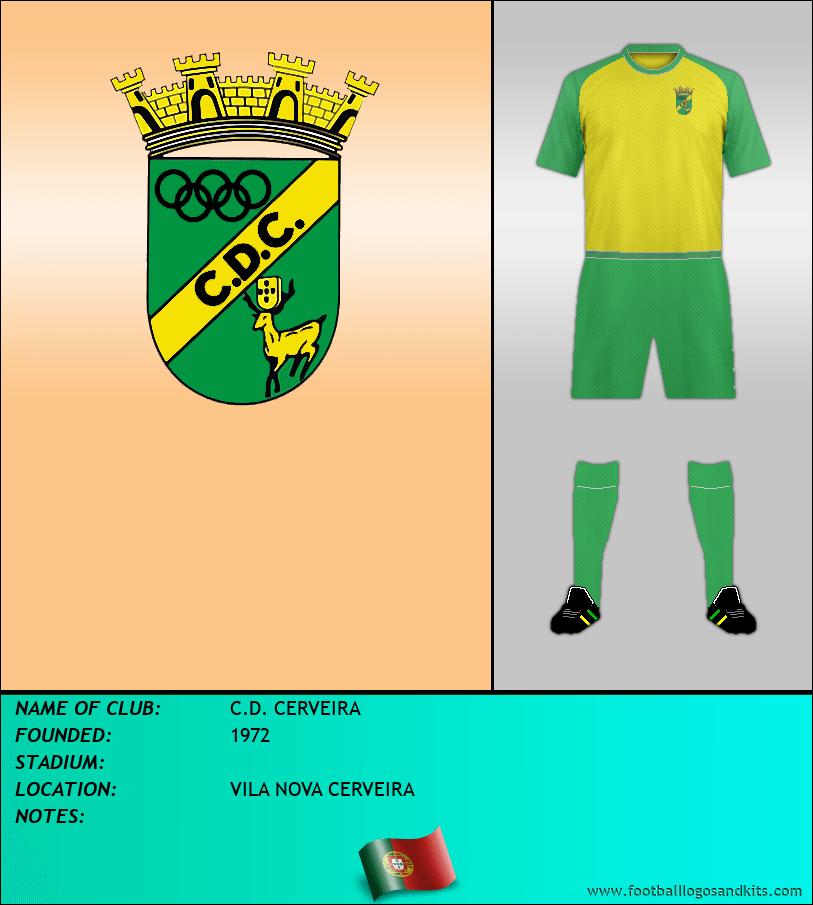 Logo of C.D. CERVEIRA