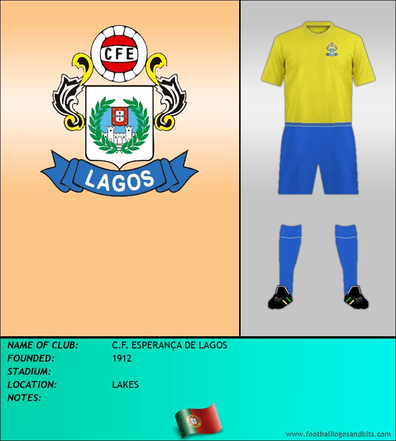 Logo of C.F. ESPERANÇA DE LAGOS