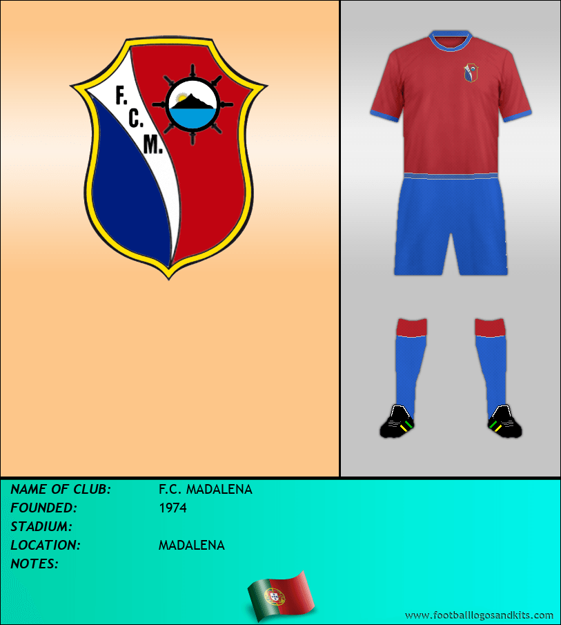 Logo of F.C. MADALENA