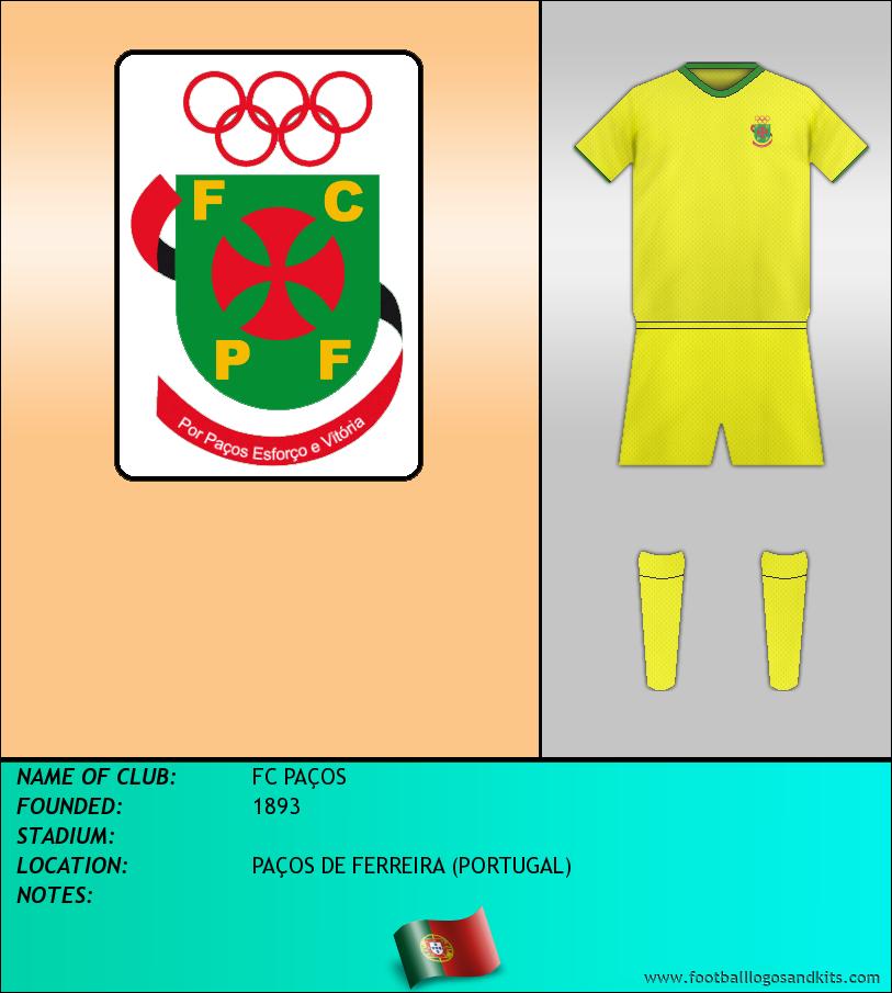 Logo of FC PAÇOS