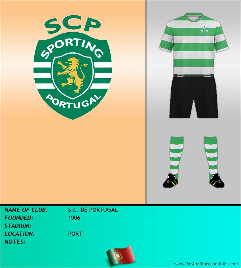 Logo of S.C. DE PORTUGAL