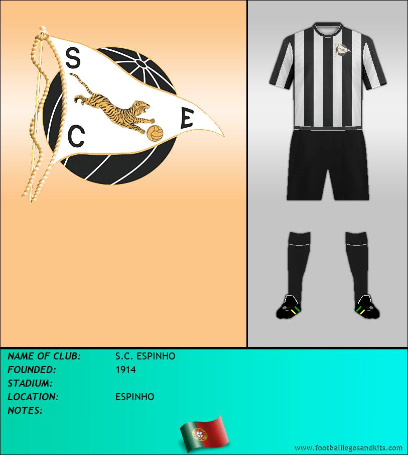 Logo of S.C. ESPINHO
