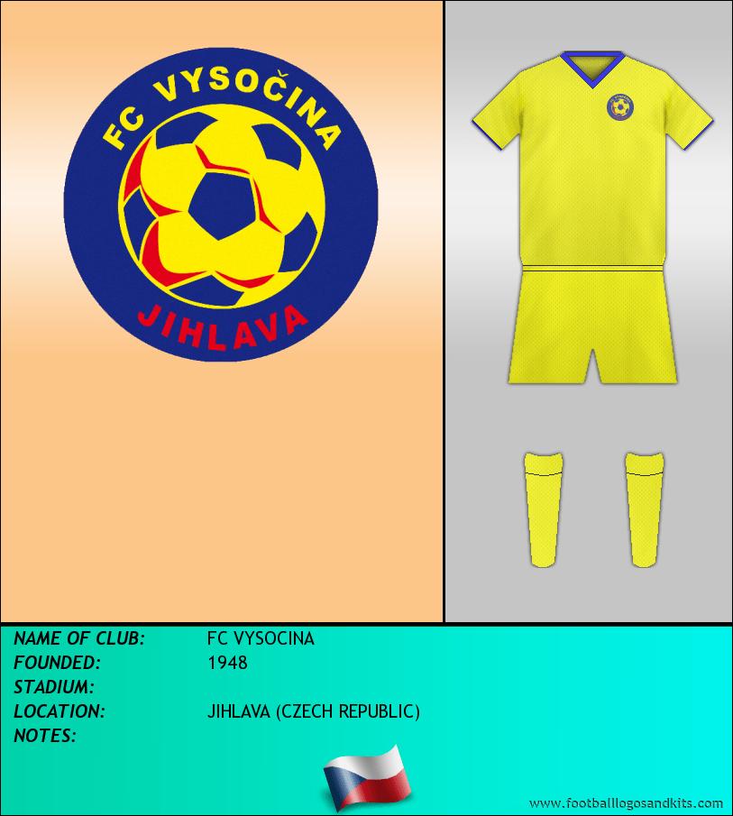 Logo of FC VYSOCINA