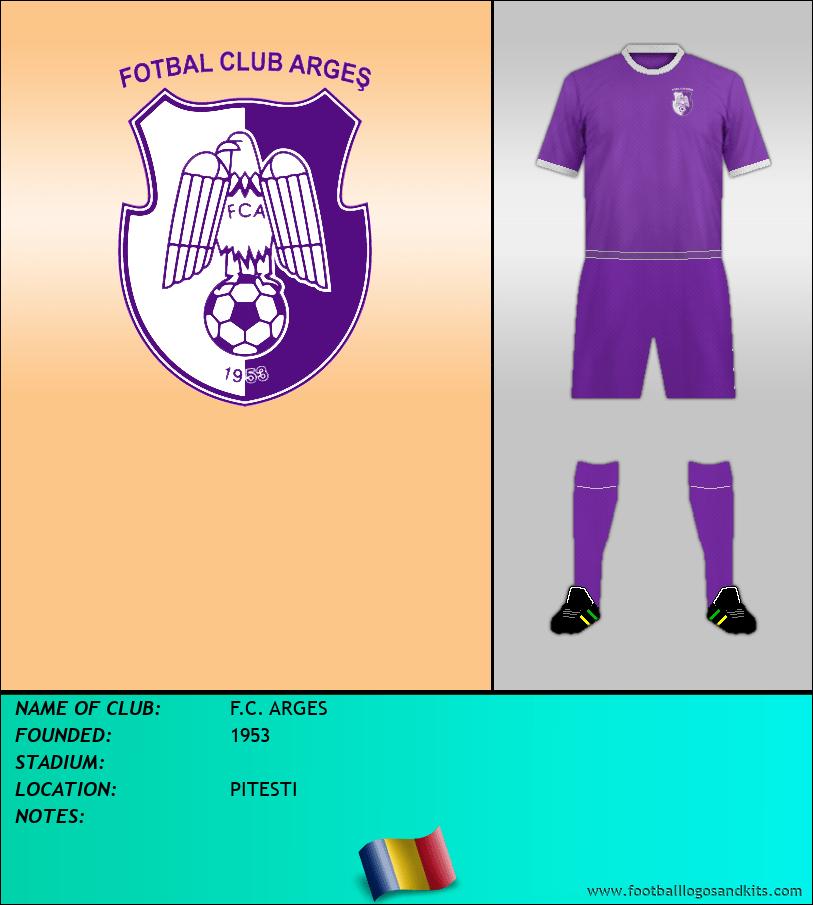 Logo of F.C. ARGES