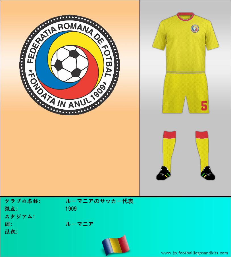 のロゴルーマニアのサッカー代表
