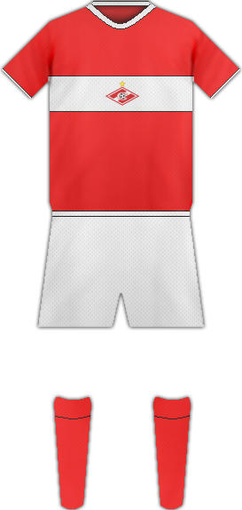 Kit FC SPARTAK DE MOSCU