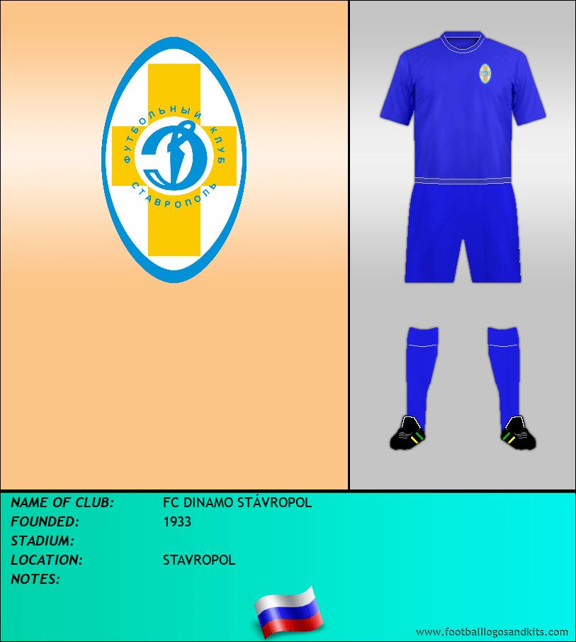 Logo of FC DYNAMO STAVROPOL