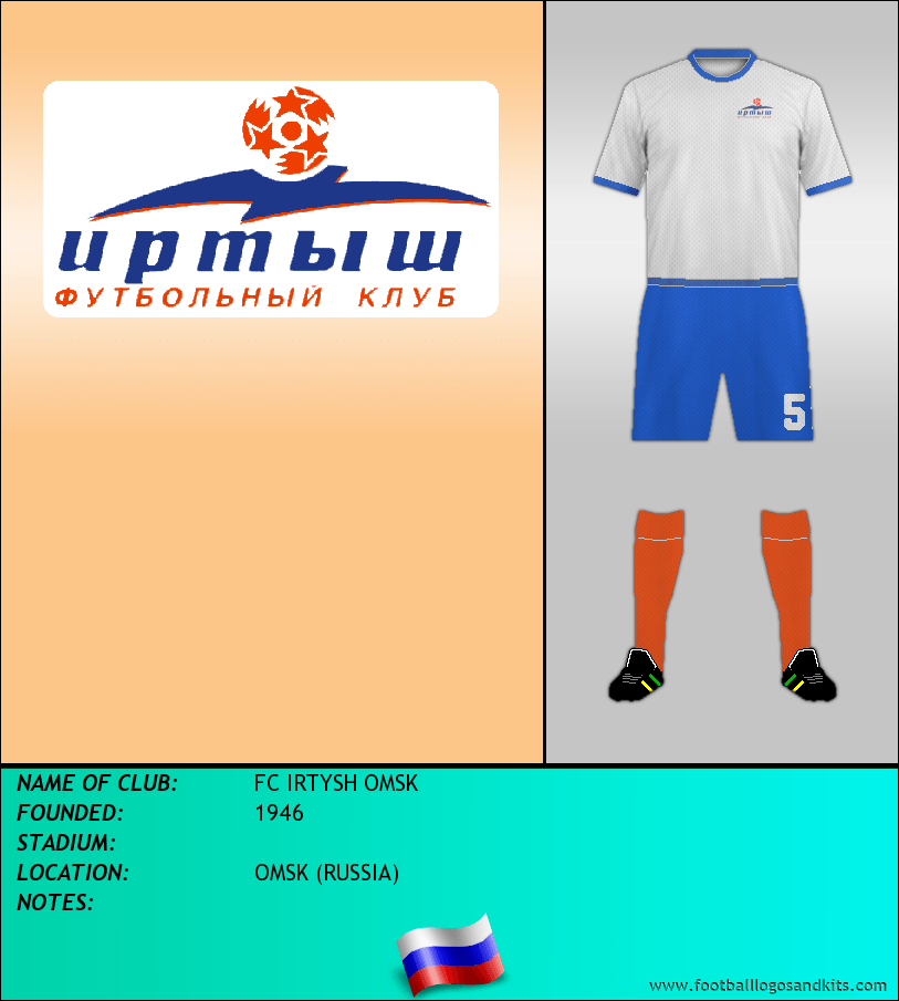 Logo of FC IRTYSH OMSK