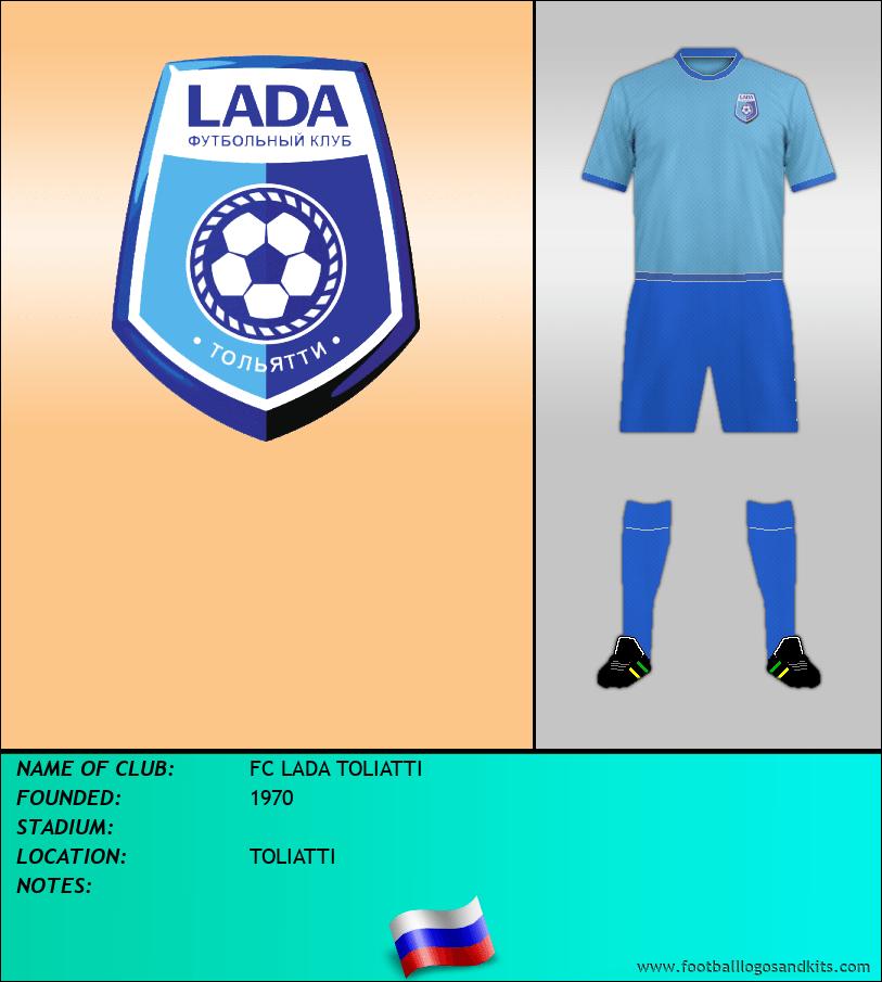 Logo of FC LADA TOLIATTI